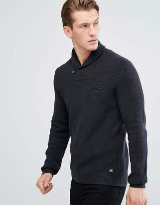 Esprit Shawl Collar Jumper