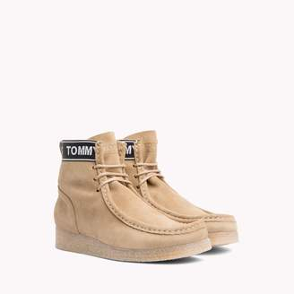 Tommy Hilfiger Crepe Sole Suede Boot