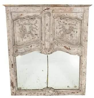 Distressed Trumeau Mirror