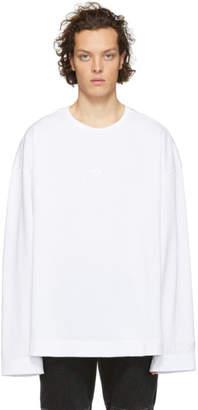Juun.J White Thealteredtech Long Sleeve T-Shirt