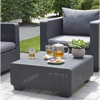 Bronx Ivy Mcguffin Resin Wicker Coffee Table