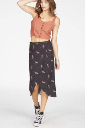 Knot Sisters Feather Wrap Skirt