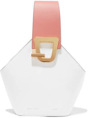 Lente Danse Johnny Mini Leather Bucket Bag - Blush