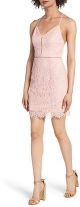 Soprano Lattice Lace Body-Con Dress