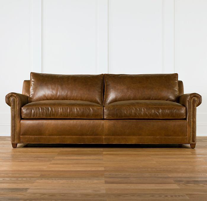 Hamilton Leather Sleeper Sofa
