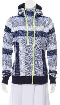The North Face Printed Zip-Up Jacket