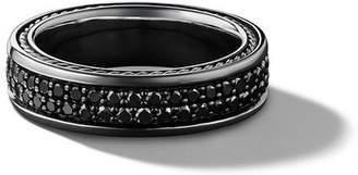 David Yurman Streamline two row pavé diamond band