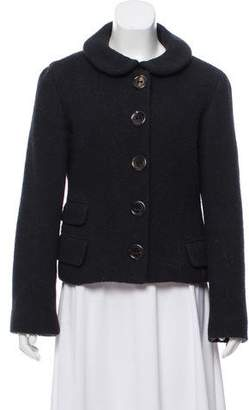 Marc Jacobs Marc by Textured Wool Jacket