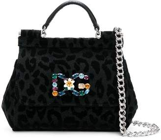 bd0484c15264 Dolce   Gabbana Black Leopard Print Bags For Women - ShopStyle Canada