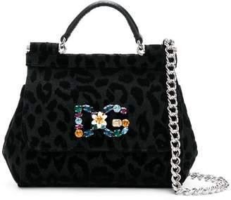e613cf39f9f8 Dolce   Gabbana Black Leopard Print Bags For Women - ShopStyle Canada