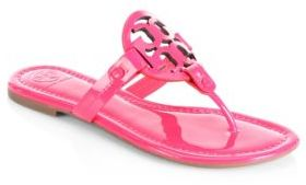 Tory Burch Miller Leather Sandals $195 thestylecure.com