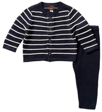 Tea Collection Liam Sweater Outfit (Baby Boys)