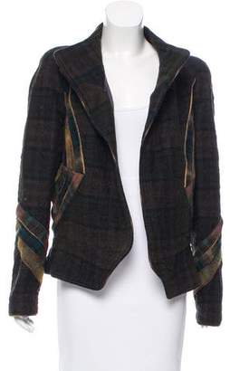 Isabel Marant Plaid Wool Jacket