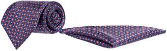 Stefano Ricci Square Silk Pocket Square and Tie Set