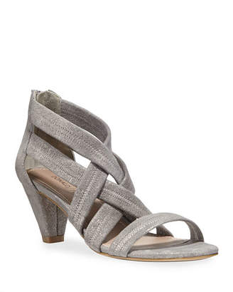 Donald J Pliner Vida Shimmer Stretch Sandals