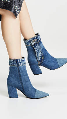 Jeffrey Campbell Finite Jn Block Heel Booties