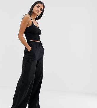 Asos Tall DESIGN Tall basic wide leg sweatpants