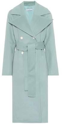 Rejina Pyo Simone felted wool-blend coat