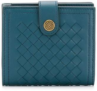 Bottega Veneta French flap wallet