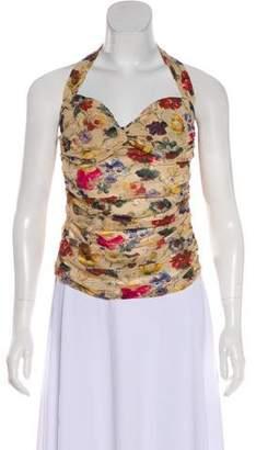 Dolce & Gabbana Silk Halter Top