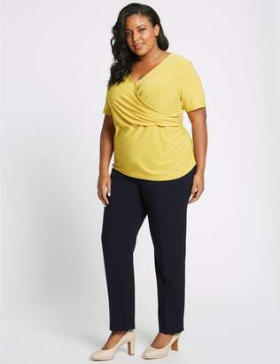 Marks and Spencer CURVE Straight Leg Trousers