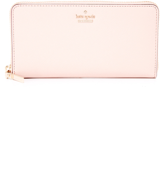 Kate Spade New York Lacey Zip Around Wallet $188 thestylecure.com