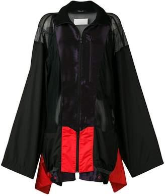 Maison Margiela oversized zip-up jacket