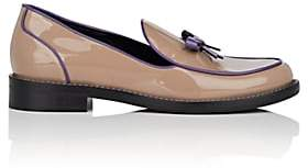 Fabrizio Viti Women's Keaton Patent Leather Loafers-Brown