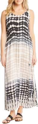 Karen Kane Tie Dye Knit Maxi Dress