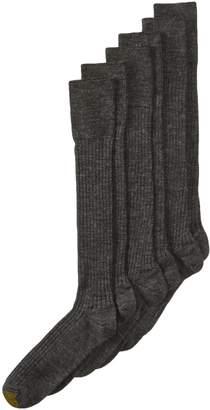 Gold Toe Men's Windsor Wool Over the Calf Dress Sock