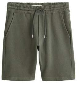 MANGO MAN Cotton jogging bermuda shorts