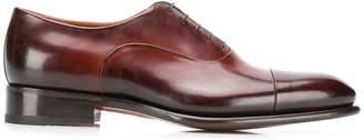 Santoni 5 hole Oxford shoes