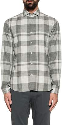 Xacus Dark Gray/light Gray Checked Shirt