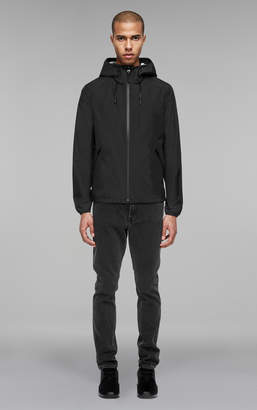 Mackage GODERIC short-length rain jacket with hood and elastic cuffs