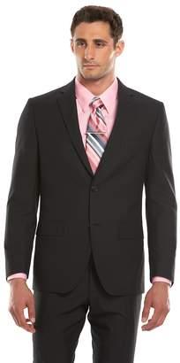 Savile Row Men's Modern-Fit Black Suit Jacket