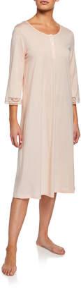 Hanro Malene 3/4-Sleeve Nightgown