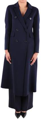 Max Mara Leone Virgin Wool And Angora Coat