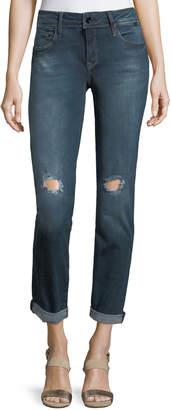 Mavi Jeans Emma Ripped Rolled-Cuff Jeans