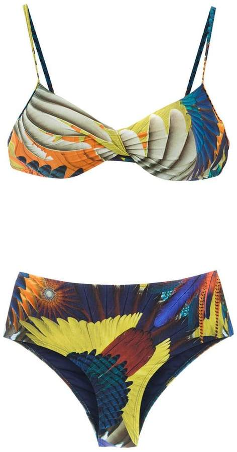 Lygia & Nanny printed Verônica bikini set