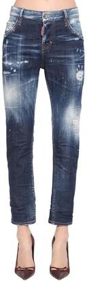 DSQUARED2 Cool Girl Cotton Denim Pants