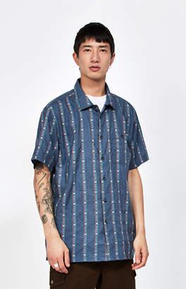 Billabong Sundays Jacquard Short Sleeve Button Up Shirt