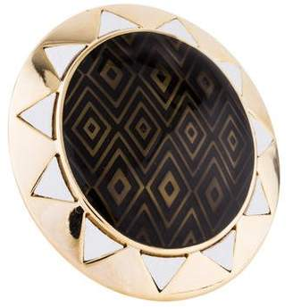 House Of Harlow Smokey Sun Cocktail Ring