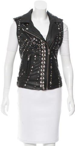 IRO Iro Studded Leather Vest