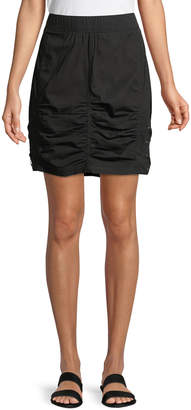 XCVI Tammy Lace-Up Side Mini Skirt