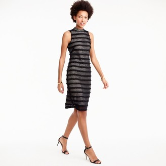 Petite sheath dress in fringy lace $138 thestylecure.com