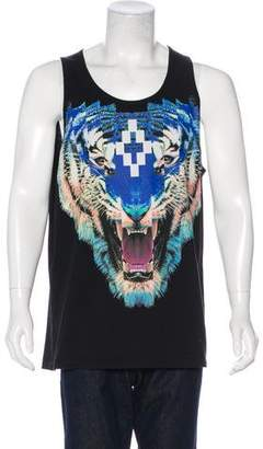 Marcelo Burlon County of Milan Tiger Sleeveless Graphic T-Shirt