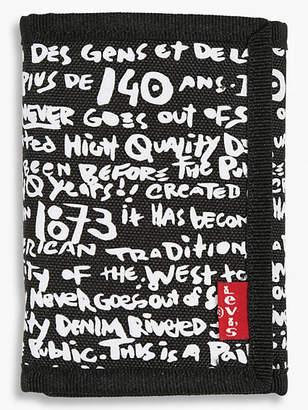 Levi's Levi's Graffiti Print Wallet