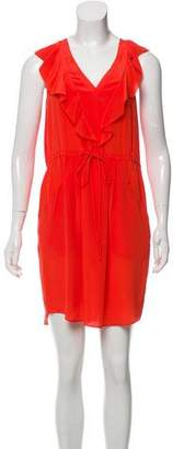 Rebecca Taylor Silk Ruffled Dress