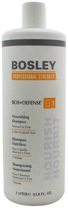 Bosley 33.8Oz Bos-Defense Nourishing Shampoo For Normal To Fine Color-Treated Hair