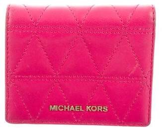 MICHAEL Michael Kors Leather Fold Wallet